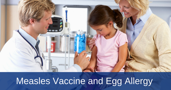 measles and mmr vaccine and eggs